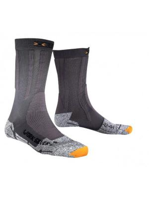 X-SOCKS WORK SILVER LIGHT ANTRACITE