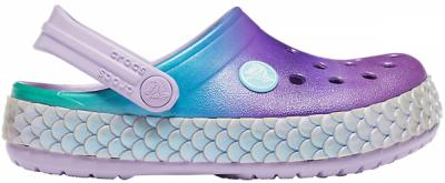 Kids Crocband™ Mermaid Metallic Clog