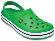 CROCS Crocband Grass Green / White