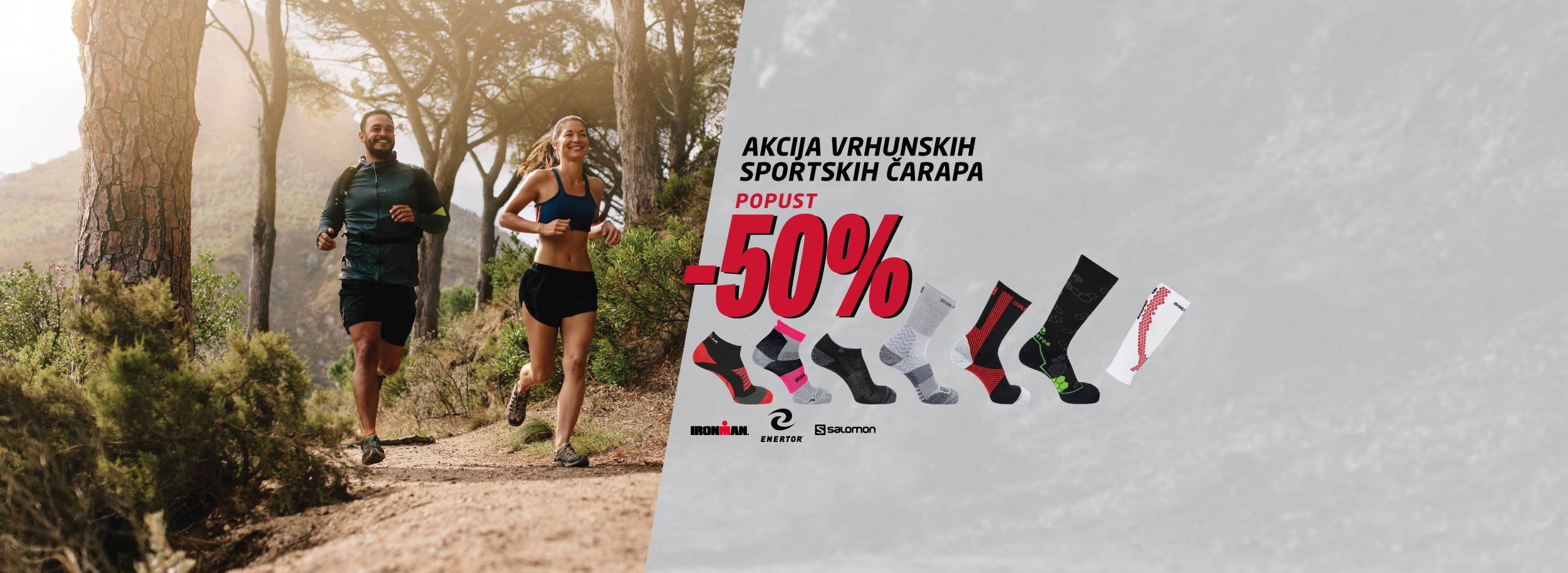 Vrhunske čarape do -50%